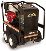 Hot Gas Pressure Washer